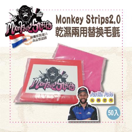 【Monkey Strips】Monkey Strips2.0|乾濕兩用替換毛氈(50入裝)|漆面保護膜|改色膜|隔熱紙|包膜工具