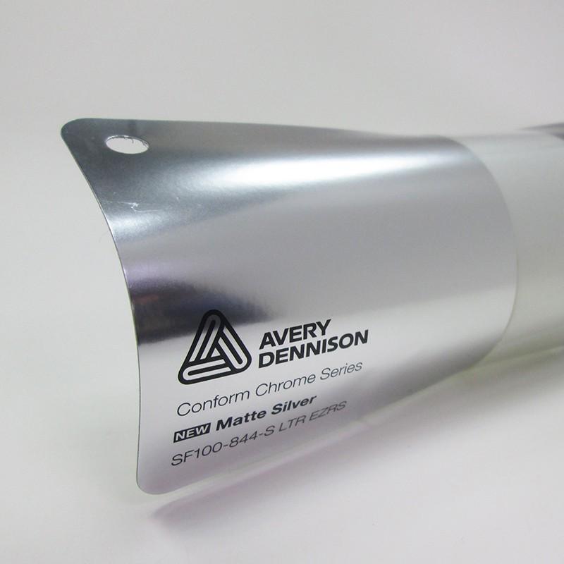 Avery Conform Chrome-Matte Silver電鍍霧銀