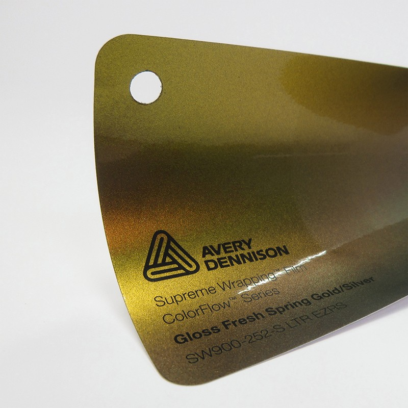 Avery-Colorflow™ Gloss Fresh Spring Gold Silver