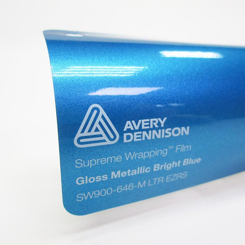 Avery SWF-Gloss Metallic Bright Blue