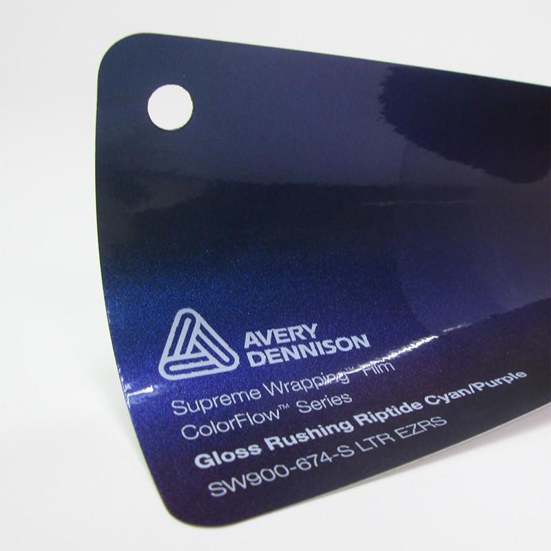 Avery-Colorflow™ Gloss Rushing Riptide Cyan Purple