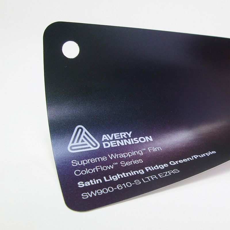 Avery-Colorflow™ Satin Lightning Ridge Green Purple