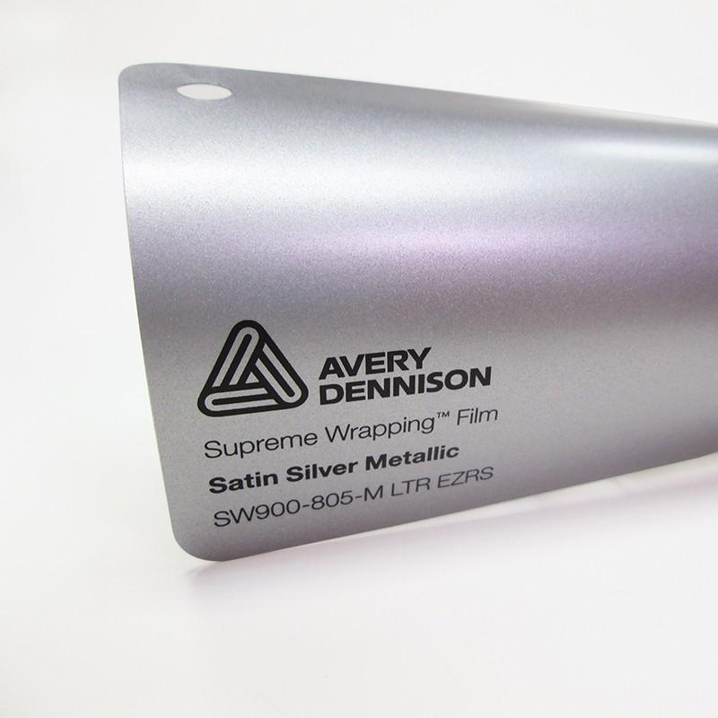 Avery SWF-Satin Silver Metallic