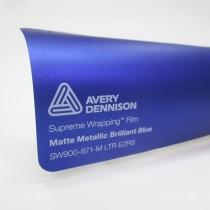 Avery SWF-Matte Metallic Brilliant Blue