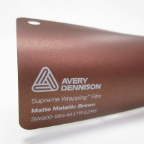 Avery SWF-Matte Metallic Brown