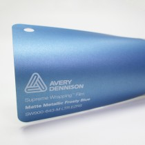 Avery SWF-Matte Metallic Frosty Blue