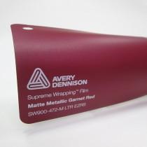 Avery SWF-Matte Metallic Garnet Red