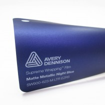 Avery SWF-Matte Metallic Night Blue