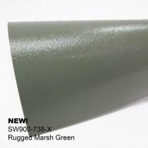 Avery Rugged-Rugged Marsh Green礫面石潭綠