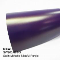 Avery Satin Metallic-Blissful Purple夢幻紫