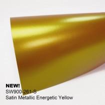 Avery Satin Metallic-Energetic Yellow鎏金暖黃