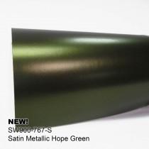 Avery Satin Metallic-Hope Green清新森綠